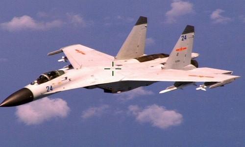 Trung Quốc được cho là đã điều 16 máy bay chiến đấu J-11 ra Hoàng Sa, xâm phạm chủ quyền Việt Nam. Ảnh minh họa: Star and Stripes