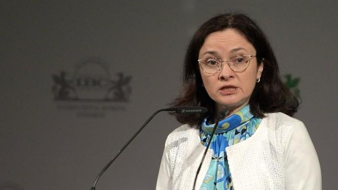Tiết lộ thu nhập của người đứng đầu Ngân hàng Trung ương Nga