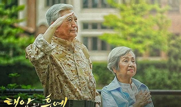 Bức ảnh cưới của cặp đôi 81 tuổi lãng mạn...