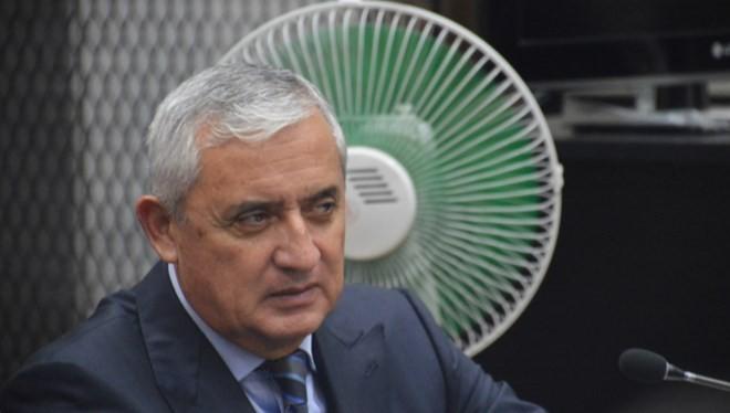 Cựu tổng thống Guatemala Otto Pérez Molina. (Nguồn: elmundo.es)