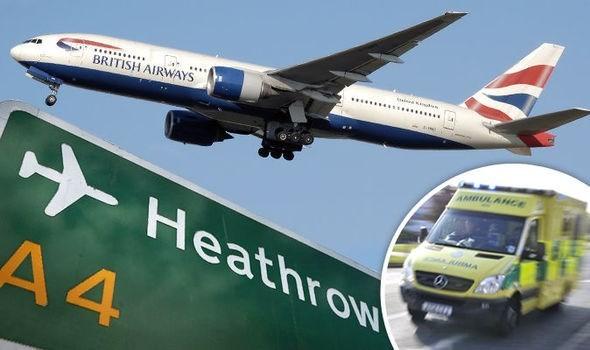 Một chiếc máy bay của hãng British Airways. (Nguồn: express.co.uk)