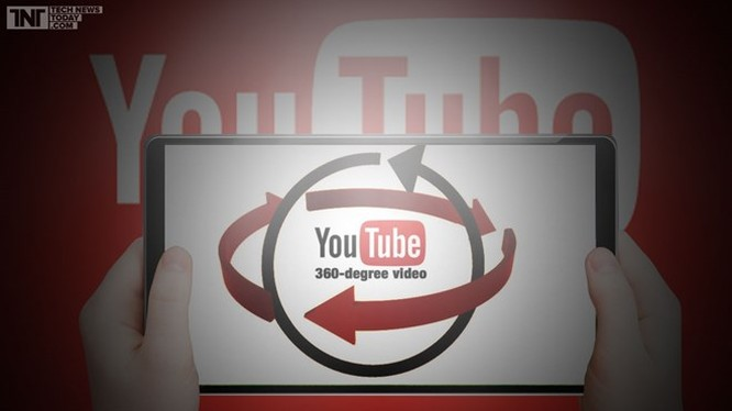 YouTube hỗ trợ phát trực tiếp video 360 độ