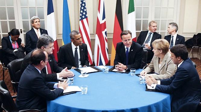Ngày 25/4: G5 thảo luận mở rộng lệnh trừng phạt chống Nga