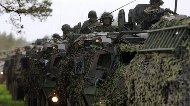 NATO tập trận quy mô lớn ngay sát biên giới Nga