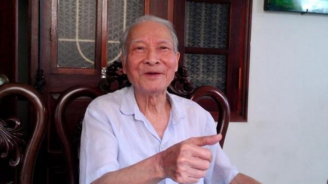 Nhà ngoại giao kỳ cựu Nguyễn Khắc Huỳnh.