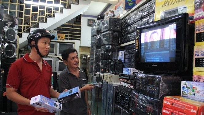 Nhu cầu mua sắm đầu thu truyền hình số DVB-T2 được dự báo sẽ tăng cao vào sát thời điểm ngày 15/6/2016. Ảnh minh họa: Internet