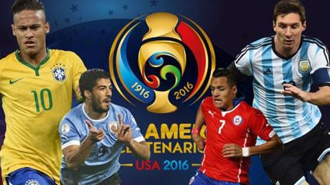 7 điều chưa biết về giải bóng đá Copa America 2016