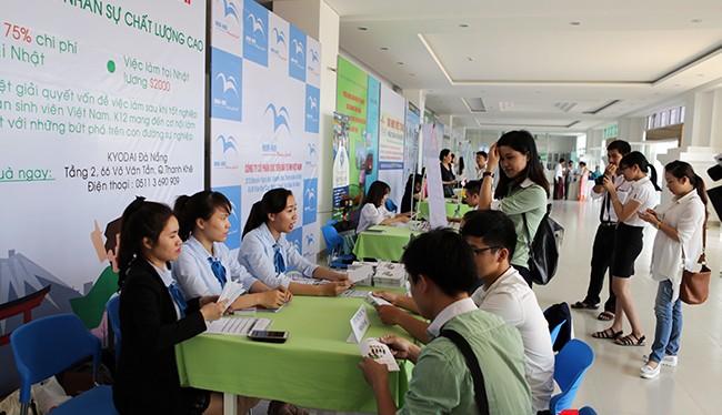 Sáng ngày 7/5, ngày Hội việc làm Nhật Bản được tổ chức tại Đà Nẵng, mở ra cơ hội cho 500 lao động đi Nhật làm việc