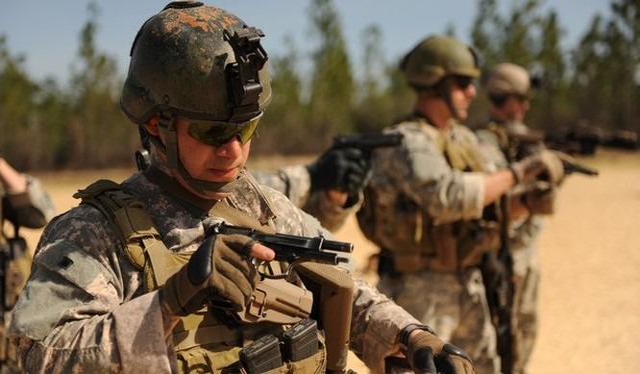 Các lực lượng đặc nhiệm của Lục quân Mỹ. Ảnh: Militaryphotos.org