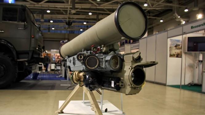 Quân đội Nga trang bị tổ hợp tên lửa chống tăng Metis-M1