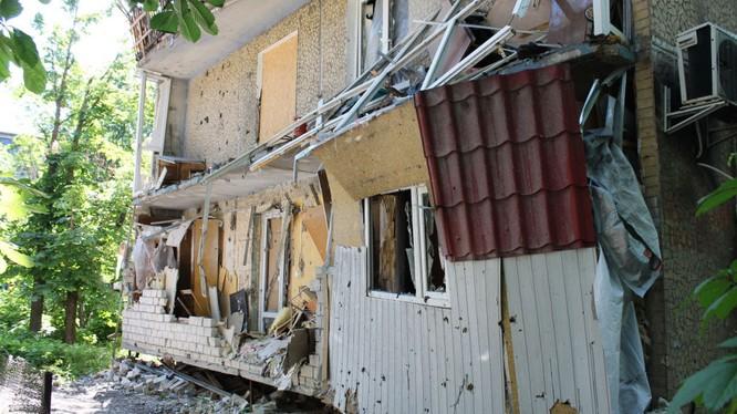 Lính Ukraina nã pháo vào các nhà báo Nga