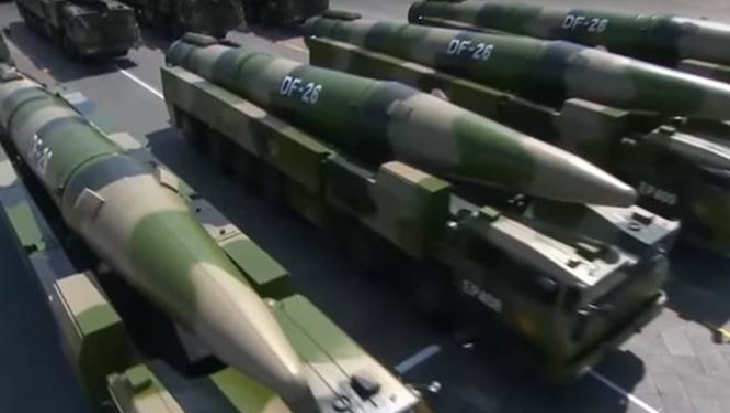 """Trung Quốc tung """"sát thủ Guam"""", Mỹ giật thót"""