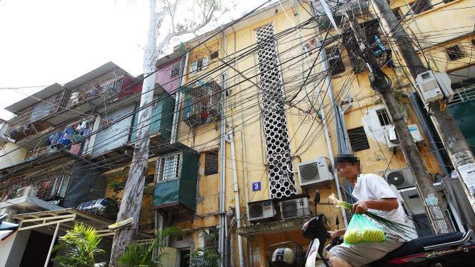 Khu tập thể cũ Kim Liên sẽ được quy hoạch không gian ngầm đô thị - Ảnh: Nguyễn Khánh