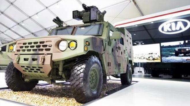 Mẫu xe bọc thép tác chiến đang được Huyndai phát triển.