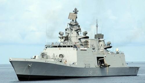 Tàu chiến INS Satpura của Ấn Độ. Ảnh: Wikipedia