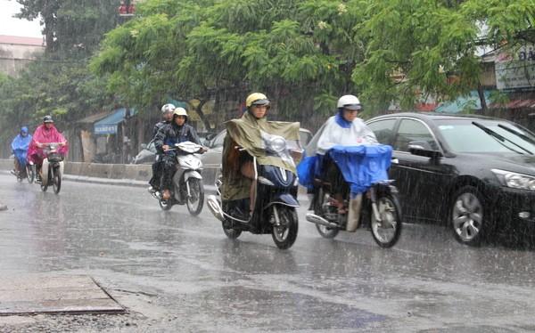 Dự báo thời tiết hôm nay (19/5): Hà Nội ngày nắng, chiều tối mưa rào