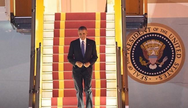 Đoàn của Tổng thống Obama thuê đường truyền riêng của VNPT