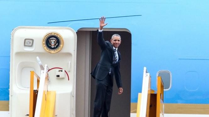 Tổng thống Obama đã kết thúc chuyến thăm chính thức Việt Nam