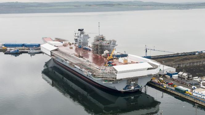 HMS Queen Elizabeth sẽ là mũi nhọn sức mạnh trên biển của Anh trong tương lai
