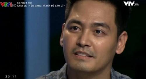 MC Phan Anh tranh cãi gay gắt trong chương trình.