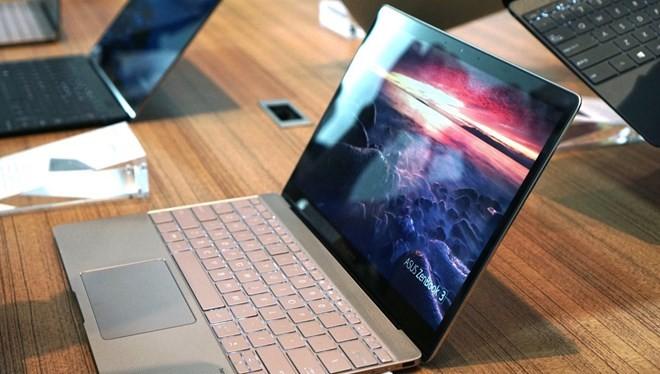Siêu phẩm ZenBook 3 của Asus mỏng hơn và nhẹ hơn MacBook