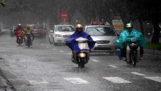 Dự báo thời tiết: Miền Bắc mưa to, nhiều nơi ngập úng