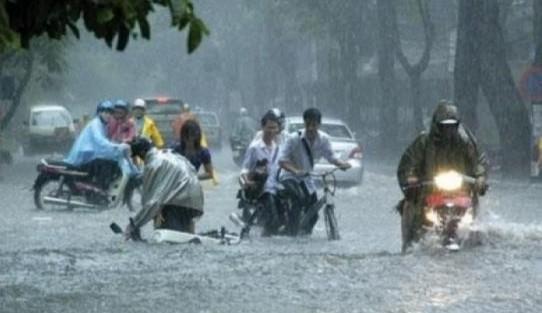 Dự báo thời tiết hôm nay (9/6): Tiếp tục mưa dông, đề phòng tố lốc, ngập lụt