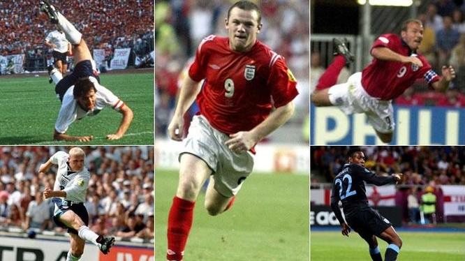 10 màn trình diễn kinh điển của ĐT Anh tại Euro