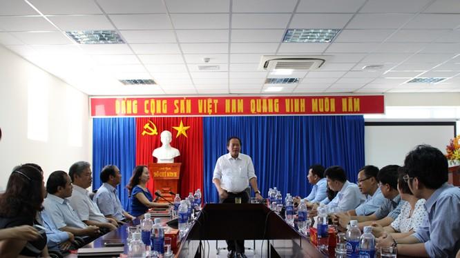Bộ trưởng Trương Minh Tuấn thăm hỏi, động viên cán bộ, viên chức và người lao động các đơn vị thuộc Bộ tại TP. Đà Nẵng