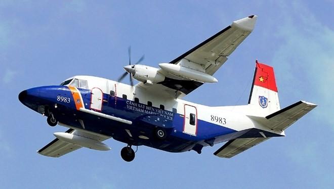 Máy bay tuần thám CASA 212 mang số hiệu 8983 bị mất liên lạc gần khu vực đảo Bạch Long Vĩ.