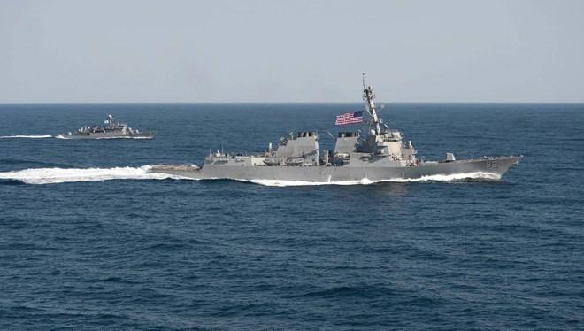 Tàu chiến Mỹ USS Lassen. (Nguồn: US Navy)