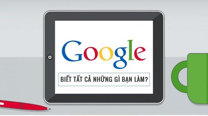"""Google đang theo dõi từng """"chân tơ kẽ tóc"""" mọi thứ về bạn"""