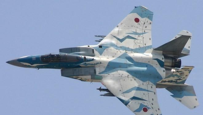 Máy bay chiến đấu của Lực lượng phòng vệ Nhật Bản. (Nguồn: listofimages.com)