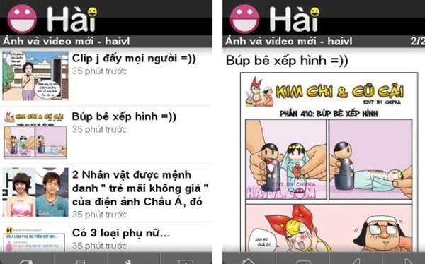 Haivl.com, một mạng xã hội đã bị đóng cửa năm 2014 vì nhiều vi phạm. (Nguồn: blackberryvietnam.net)