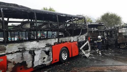 Nguy cơ cháy nổ phương tiện rất cao nhưng hầu hết các nhà xe còn lơ là với việc phòng chống cháy nổ.