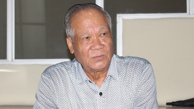 Ông Trần Ngọc Hùng, Chủ tịch Tổng Hội Xây dựng Việt Nam.