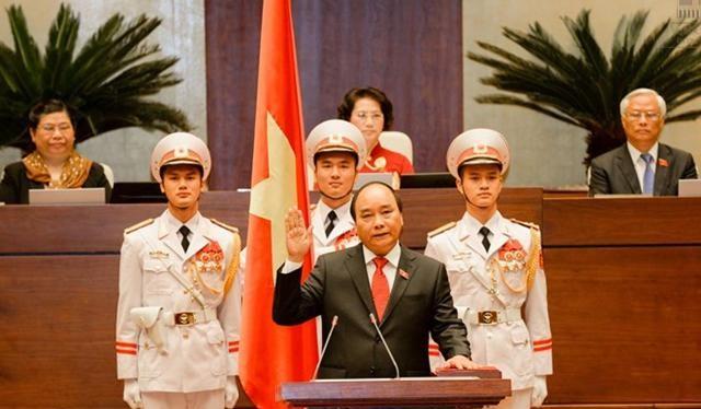 Thủ tướng Chính phủ Nguyễn Xuân Phúc tuyên thệ vào ngày 7/4 vừa qua.