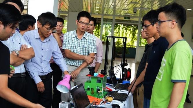 Phòng thí nghiệm IoT vừa được khai trương và đưa vào sử dụng tại khu CNC Hoà Lạc.