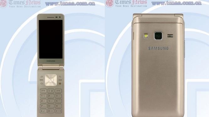Galaxy Folder 2 sẽ được phát hành với màu vàng.