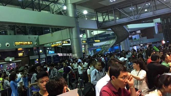Sự cố an ninh mạng xảy ra tại sân bay quốc tế Nội Bài và Tân Sơn Nhất chiều 29/7.