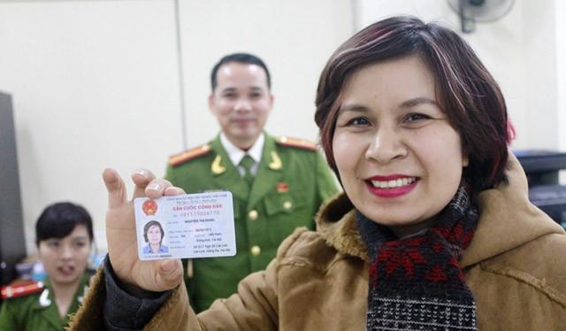 Công dân Việt Nam từ đủ 14 tuổi trở lên được cấp Căn cước công dân