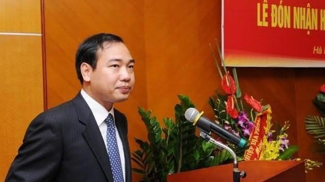 Ông Trần Quang Huy - Tân Vụ trưởng Vụ Tổ chức cán bộ, Bộ Công thương.