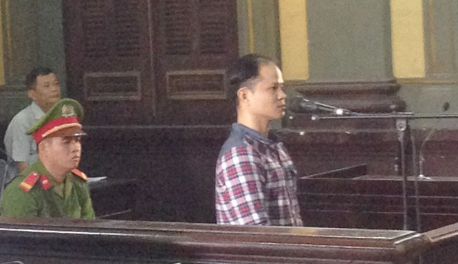 Ảnh chụp tại phiên tòa