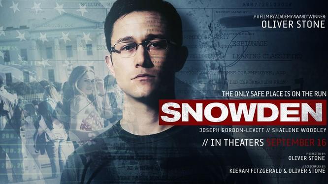 """Tối 14/9, lễ ra mắt toàn cầu tác phẩm điện ảnh """"Mật vụ Snowden"""" đã diễn ra tại thành phố New York, Mỹ."""