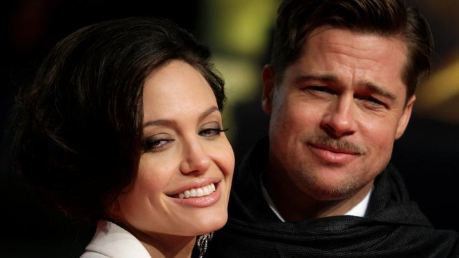 Thời yêu đương mặn nồng của Angelina Jolie và Brad Pitt.