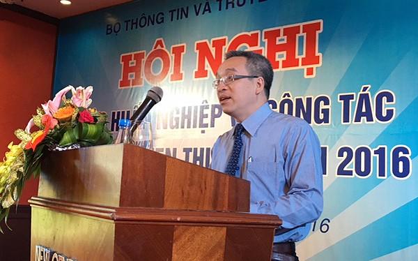 Thứ trưởng Phan Tâm phát biểu khai mạc và chỉ đạo Hội nghị
