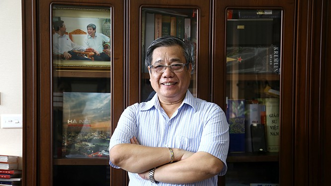 Giáo sư - tiến sỹ khoa học Vũ Minh Giang. Ảnh Lê Hằng