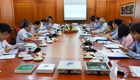 Các sản phẩm của dự án được giới thiệu tại buổi nghiệm thu.