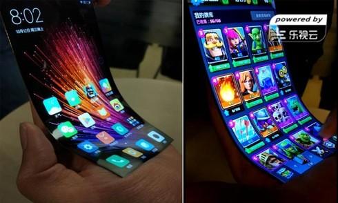 Xiaomi thử nghiệm màn hình smartphone uốn cong