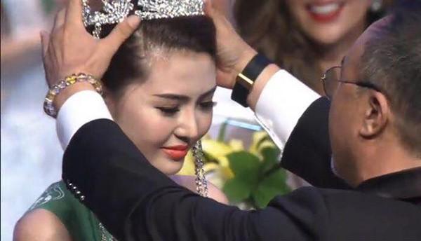 Nguyễn Thị Ngọc Duyên là người đẹp vừa trở thành tân Nữ hoàng sắc đẹp toàn cầu 2016 trong đêm chung kết tại Hàn Quốc.
